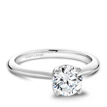 Noam Carver Modern Engagement Ring B027-01A