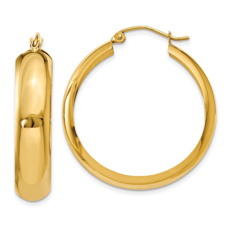 J.F. Kruse Signature Collection 14K Hoop Earrings