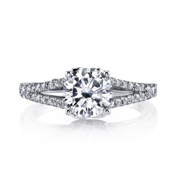 MARS 25990 Diamond Engagement Ring 0.43 Ctw.