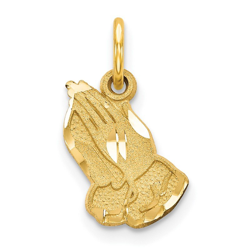 Quality Gold 14k Praying Hands Charm