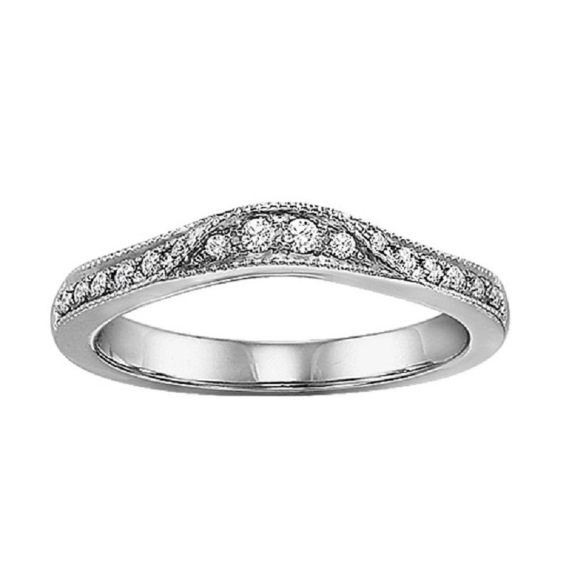 Bridal Bells 14K Diamond Destiny Band 1/7 ctw