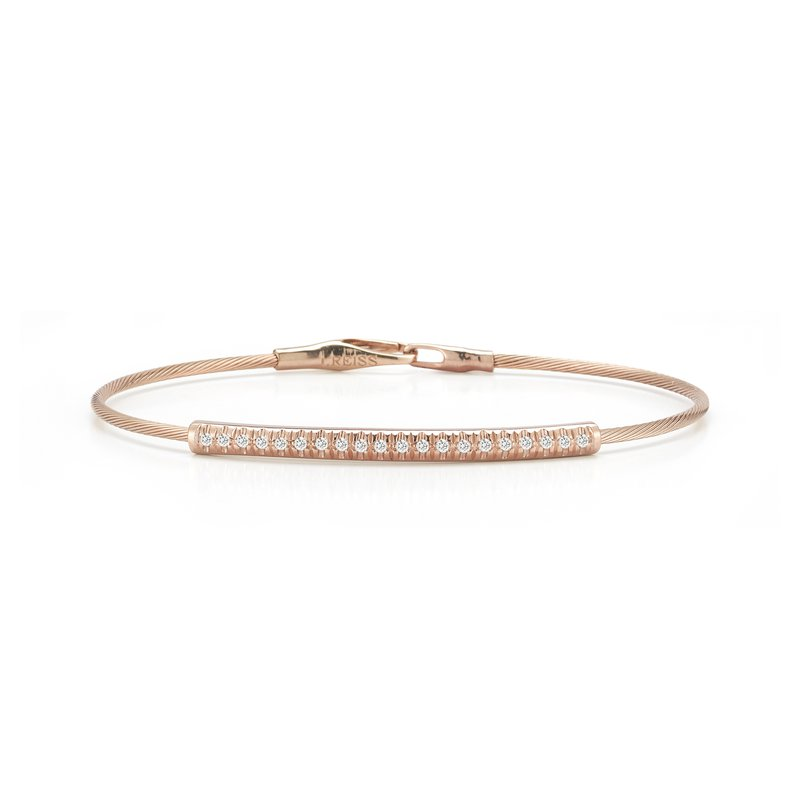 I. Reiss 14K-P WIRE BR., 0.20CT