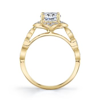 MARS 27070 Engagement Ring 0.22 Ctw.