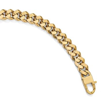 Leslie's 14k Polished Fancy Link 8in Bracelet