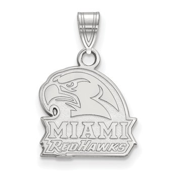Sterling Silver Miami University NCAA Pendant