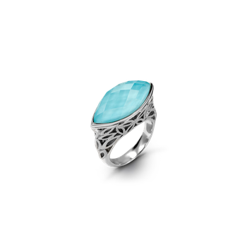 Raya Marquise Silver Ring