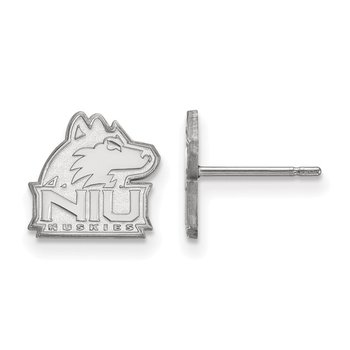Sterling Silver Northern Illinois University NCAA Earrings