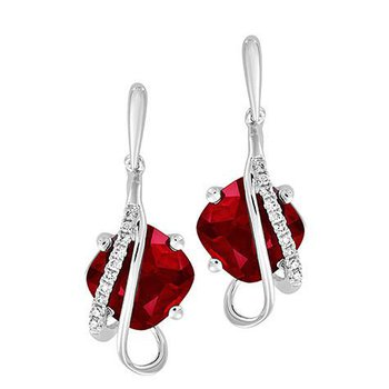 Ruby Earrings-CE4256WRU