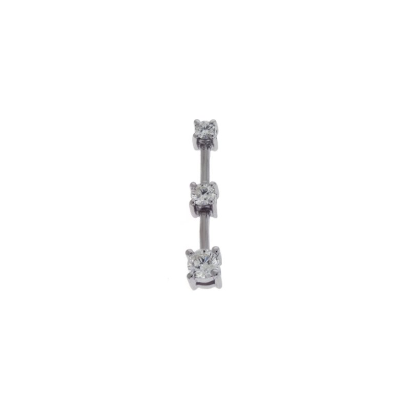 S. Kashi  & Sons Three Stone Charm