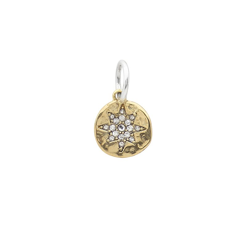 Waxing Poetic Illuminations Charm - Compass Rose