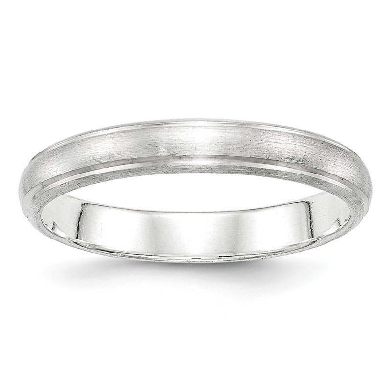 Quality Gold Sterling Silver 4mm Satin Finish Band