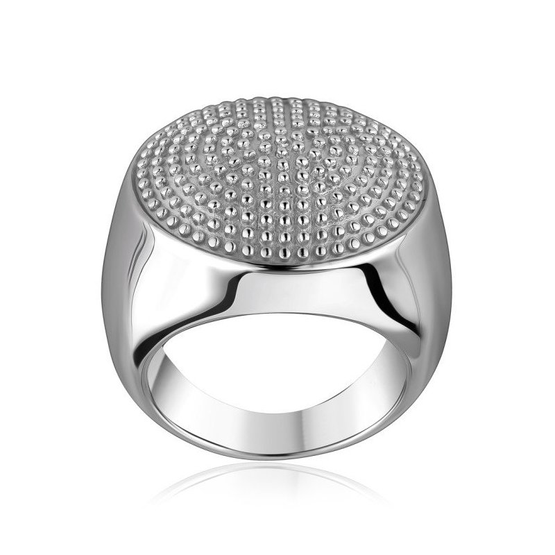 LARUS Jewelry Round Dotted Ring