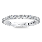 Valina Bridals Valina Eternity Band (Size 6.5) in 14K White Gold (0.91ct. tw.)