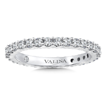 Valina Eternity Band (Size 6.5) in 14K White Gold (0.91ct. tw.)
