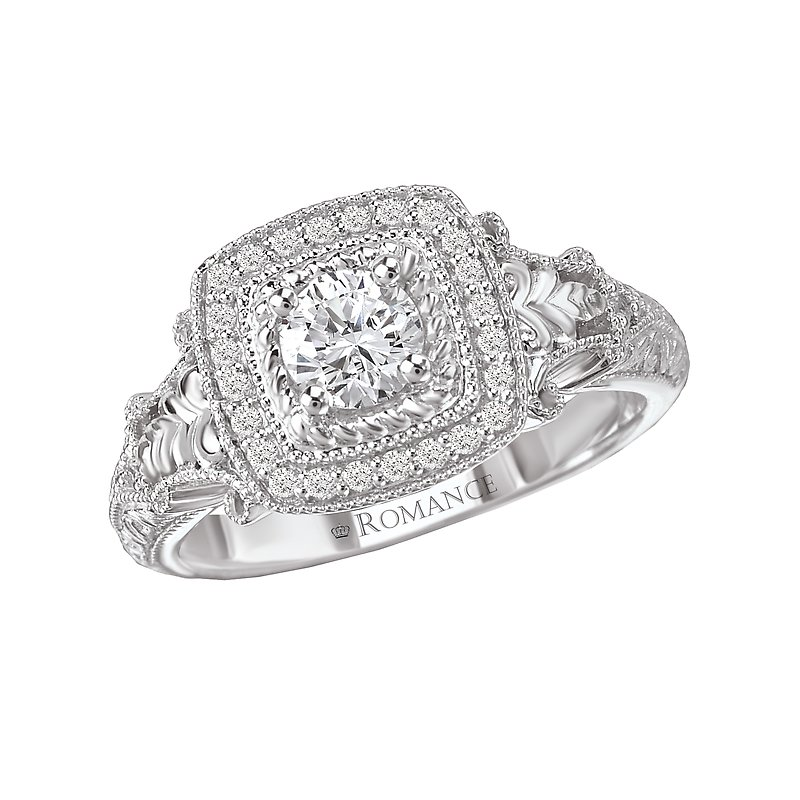 LaVie Halo Diamond Ring