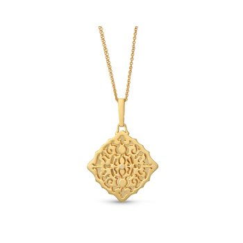 Mimi Locket Necklace Gold