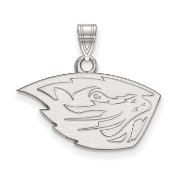 Sterling Silver Oregon State University NCAA Pendant