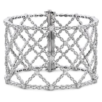 8.3 ctw. Lorelei Lattice Diamond Intensive Bangle