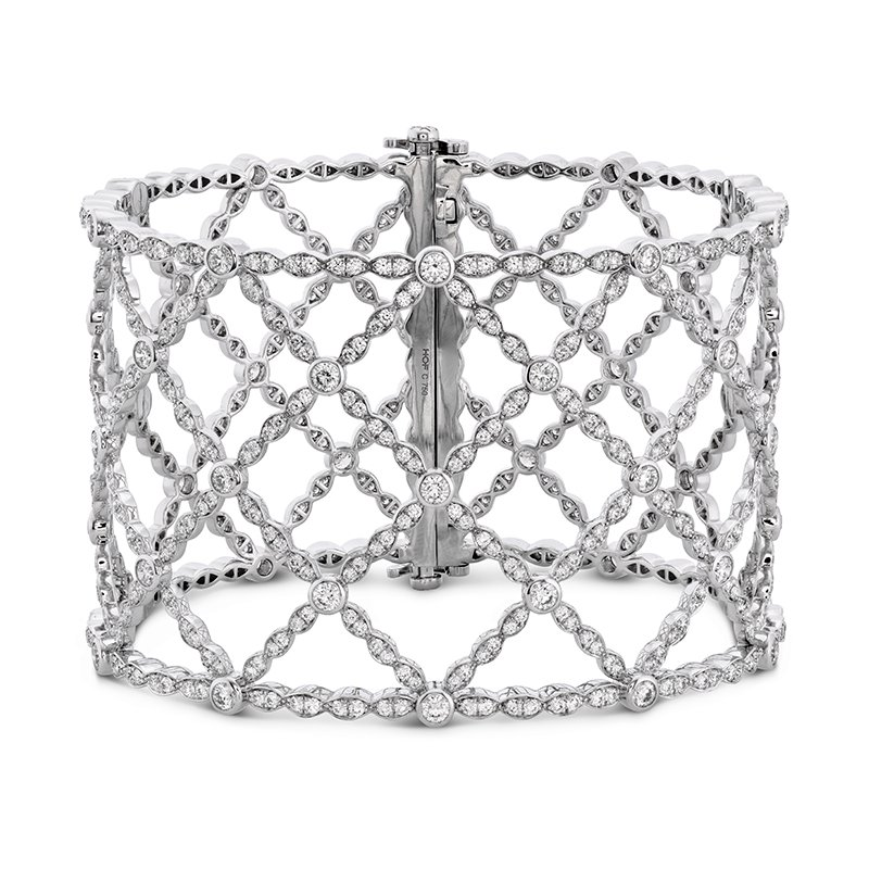 Hearts on Fire Lorelei Lattice Diamond Intensive Bangle
