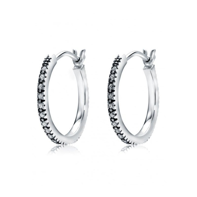 LARUS Jewelry Small Classic Hoops