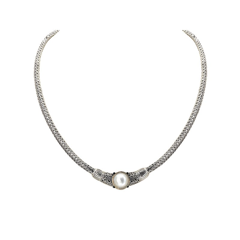 Eleganza Ladies Fashion Pearl Necklace