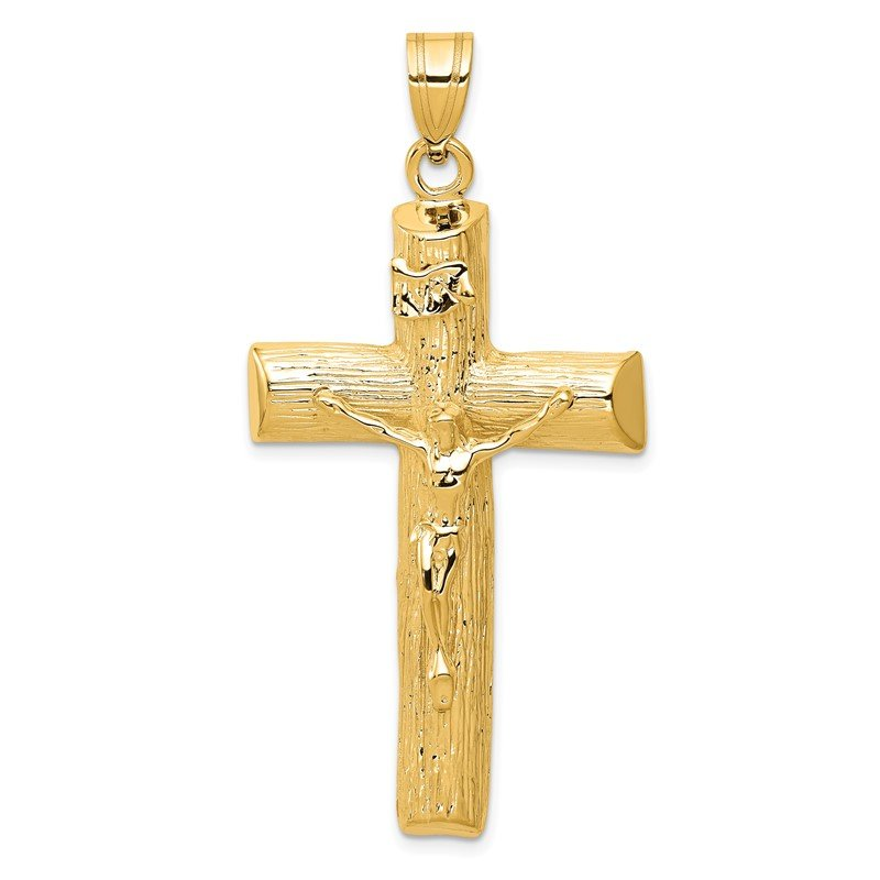Quality Gold 14k Crucifix Charm