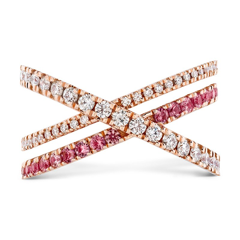 Hearts on Fire 0.45 ctw. Harley Wrap Power Band with Sapphires