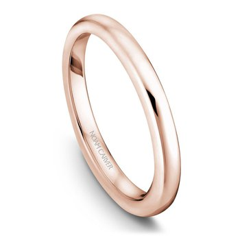 Noam Carver Wedding Band B006-03RB