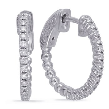 0.75 Inch Securehinge Hoop EarrIng