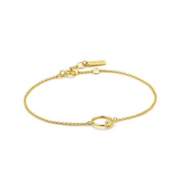 Orbit Chain Circle Bracelet