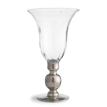Vase with Pewter Stem