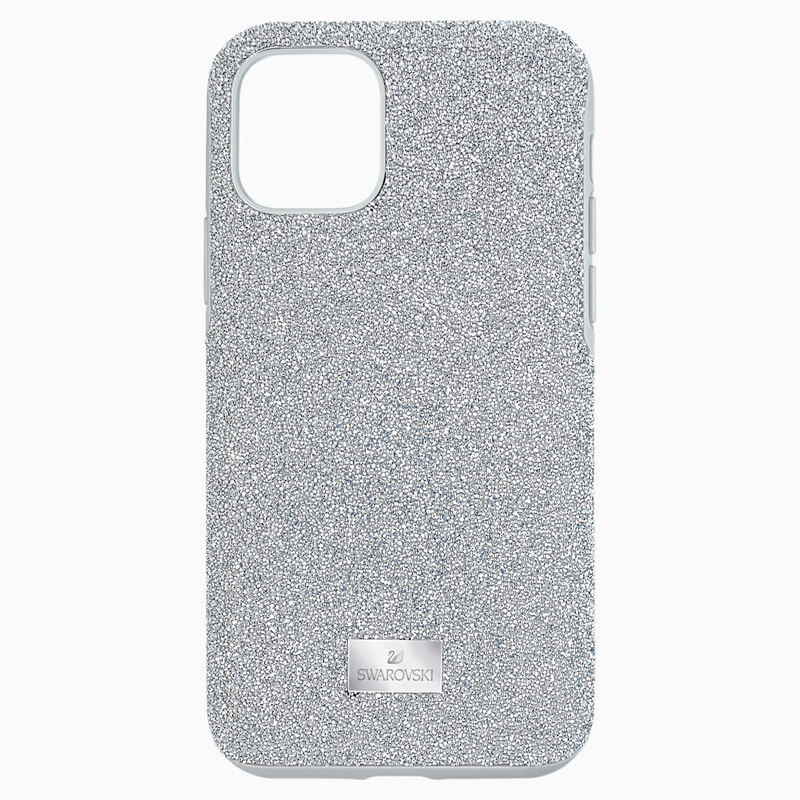 Swarovski High Smartphone Case, iPhone® 11 Pro, Silver tone