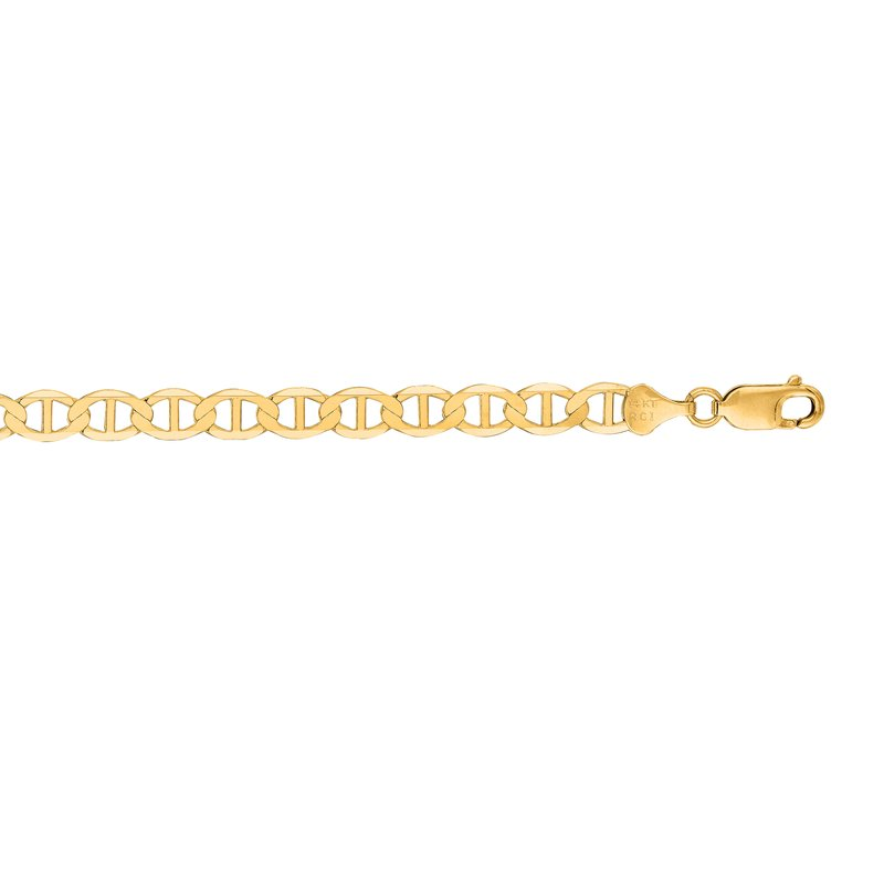 Royal Chain 14K Gold 6.3mm Mariner Chain