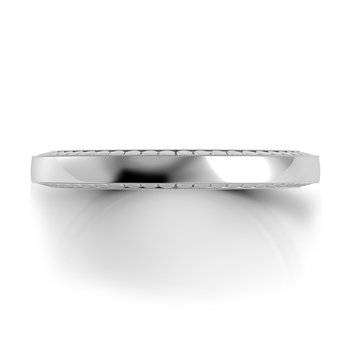 Tubetto Flat Wedding Band