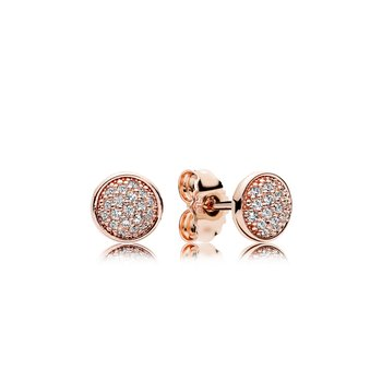 Dazzling Droplets, Pandora Rose™ Clear Cz