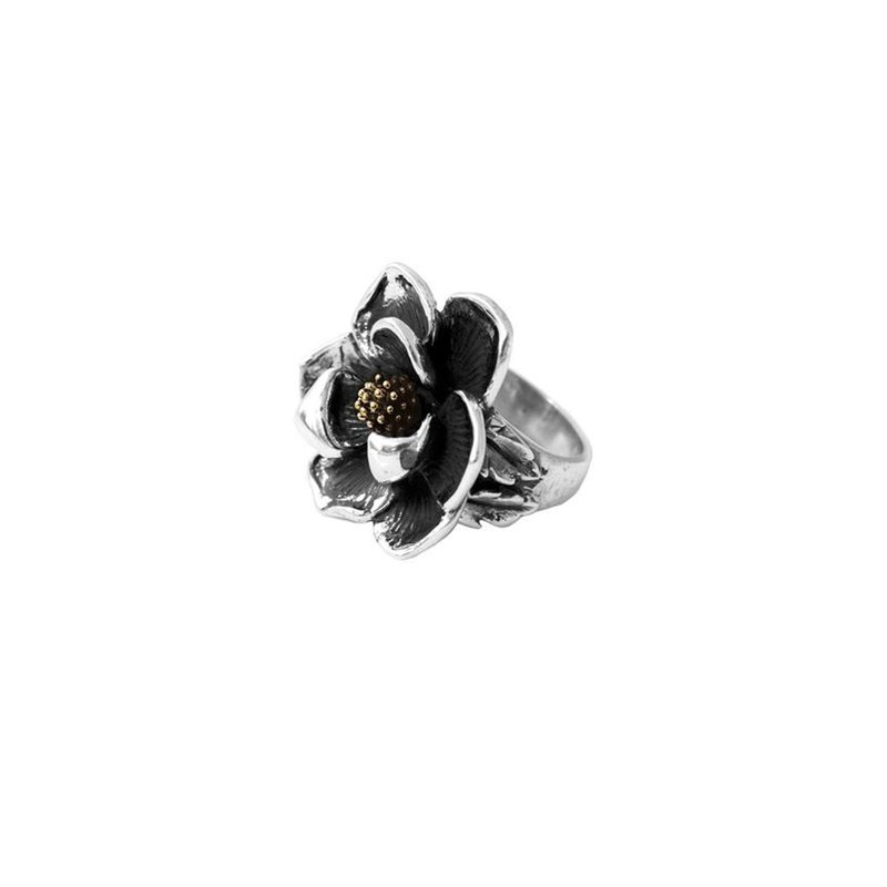 King Baby Magnolia Flower Ring