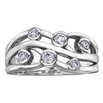 I am Canadian™ Diamond Ladies Ring