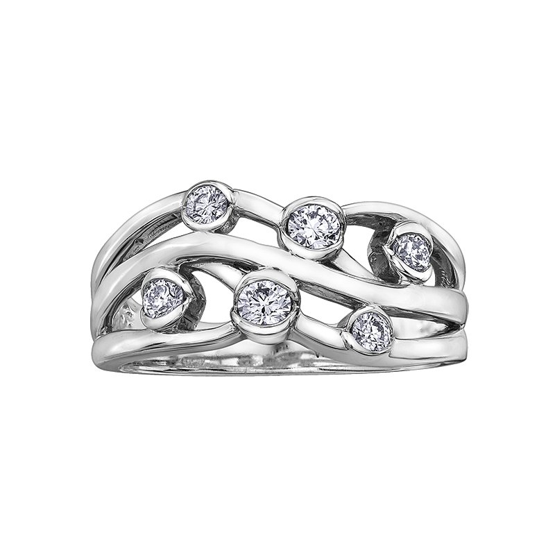 I Am Canadian Diamond Ladies Ring