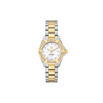 Aquaracer 300M Steel and Gold Quartz Watch