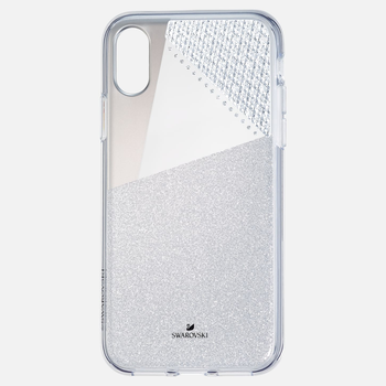 Subtle Smartphone Case with Bumper, iPhone® XS Max, Silver tone
