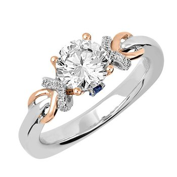 Bridal Ring-RE12655RW10R