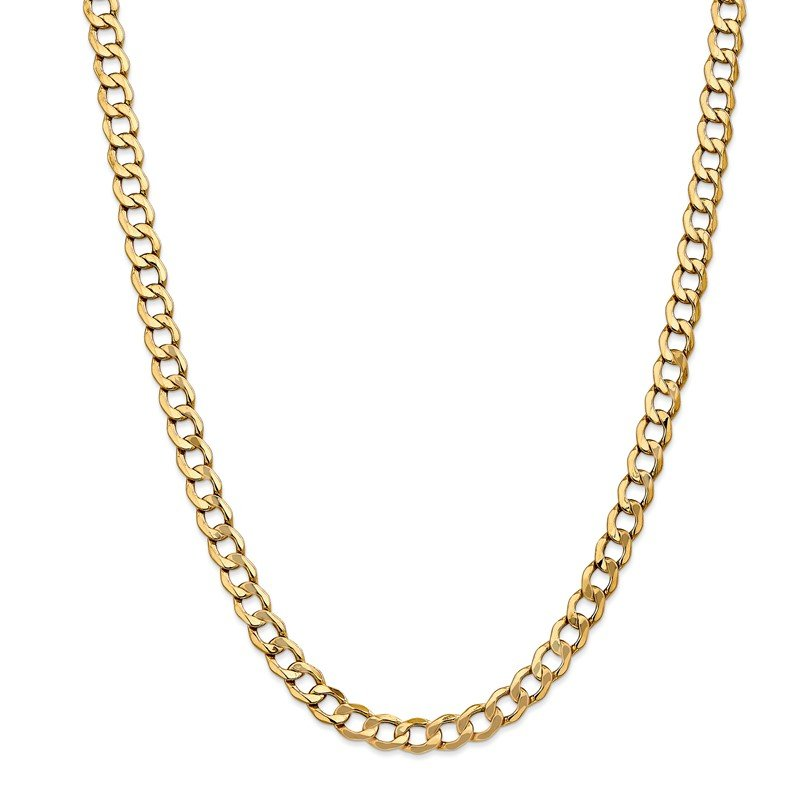 Lester Martin Online Collection 14k 7mm Semi-Solid Curb Chain
