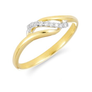 14K YG Diamond Fashion Ring