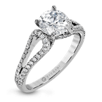 Zeghani ZR1226 ENGAGEMENT RING