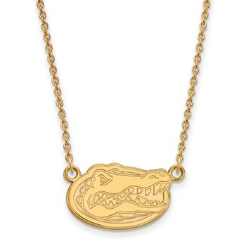 Gold University of Florida NCAA Necklace