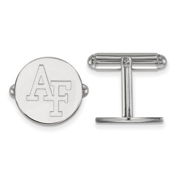 Sterling Silver United States Air Force Academy NCAA Cuff Links