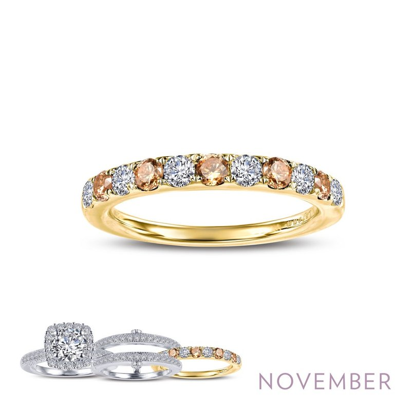 LaFonn November Birthstone Ring
