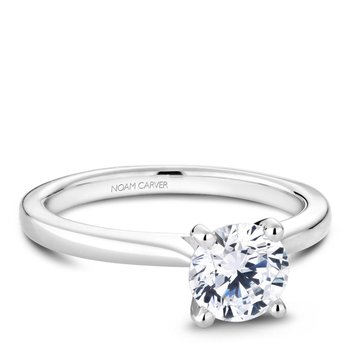 Noam Carver Modern Engagement Ring R045-01A