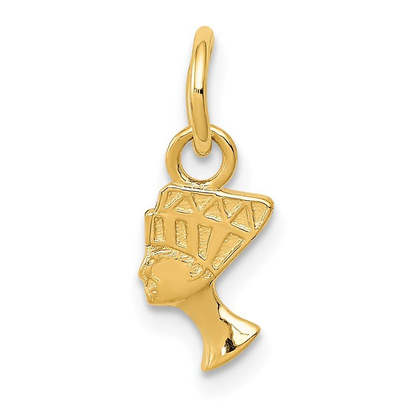 Quality Gold 14k Nefertiti Charm