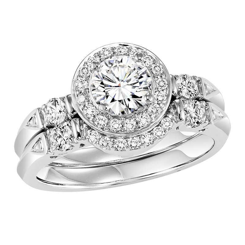 Bridal Bells 14K Diamond Engagement Ring 1/4 ctw